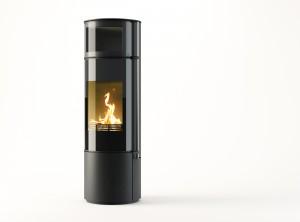 Toplozračna kaminska peč na drva Omega