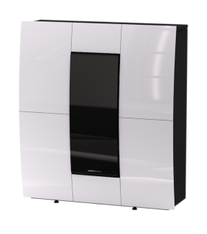 Termo kaminska peč Turbo Compact Glass AQUA 14