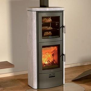 Kaminska peč na drva in pelete s pečico Toulouse BF
