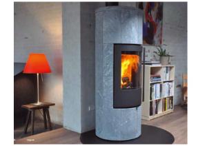 Toplozračna kaminska peč na drva Troja 44