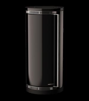Toplozračna kaminska peč na razpih turbo ergonomic glass C9